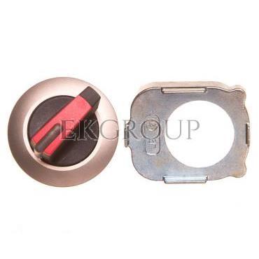 Napęd przełącznika 2 położeniowy O-I 30mm czerwony podświetlany bez samopowrotu metal mat IP69k Sirius ACT 3SU1062-2DF20-0AA0-99