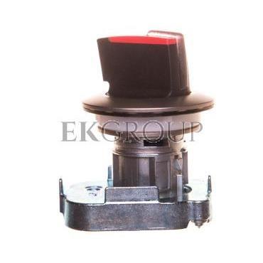 Napęd przełącznika 3 położeniowy I-O-II 30mm czerwony z podświetleniem niestabilny metal mat IP69k Sirius ACT 3SU1062-2DL20-0AA0