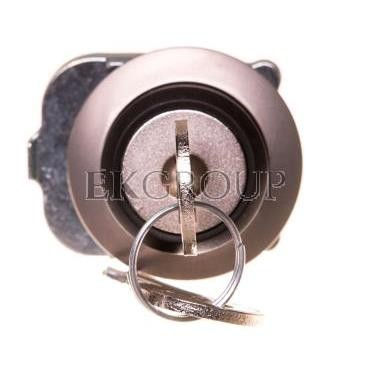 Napęd przełącznika 2 położeniowy O-I 30mm 2x klucz RONIS SB30 bez samopowrotu metal mat IP69k Sirius ACT 3SU1060-4LF21-0AA0-9947