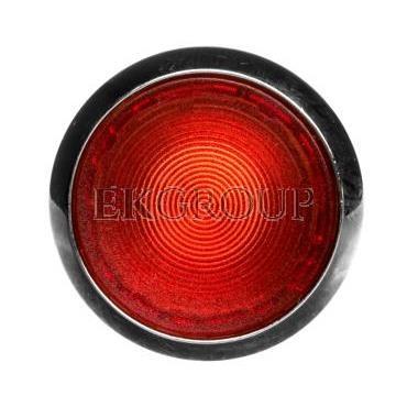 Napęd przycisku 22mm czerwony z podświetleniem z samopowrotem metalowy IP69k Sirius ACT 3SU1051-0AB20-0AA0-100920