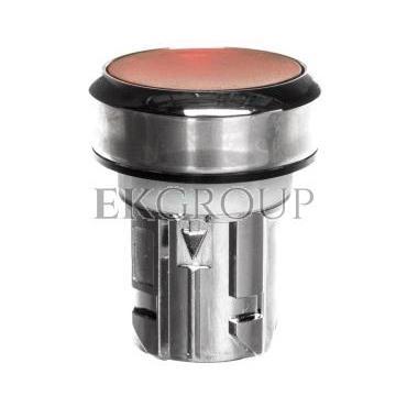 Napęd przycisku 22mm czerwony z podświetleniem z samopowrotem metalowy IP69k Sirius ACT 3SU1051-0AB20-0AA0-100921