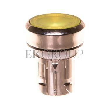 Napęd przycisku 22mm żółty z podświetleniem bez samopowrotu metalowy IP69k Sirius ACT 3SU1051-0AA30-0AA0-100936