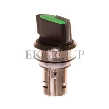 Napęd przełącznika 2 położeniowy O-I 22mm zielony z podświetleniem bez samopowrotu metal IP69k Sirius ACT 3SU1052-2BF40-0A-99496