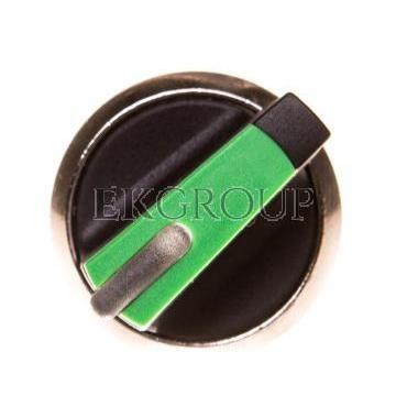 Napęd przełącznika 2 położeniowy O-I 22mm zielony z podświetleniem bez samopowrotu metal IP69k Sirius ACT 3SU1052-2BF40-0A-99497