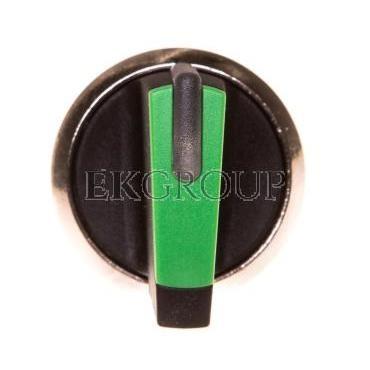 Napęd przełącznika 3 położeniowy I-O<II 22mm zielony podświetlany stabilny/niestabilny metal mat IP69k Sirius ACT 3SU1052-2BN40-