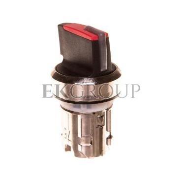 Napęd przełącznika 3 położeniowy I-O<II 22mm czerwony podświetlany stabilny/niestabilny metal mat IP69k Sirius ACT 3SU1052-2BN2-