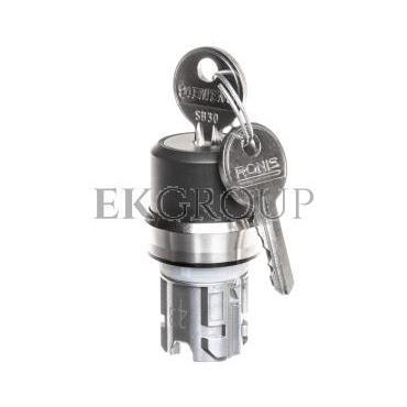 Napęd przełącznika 3 położeniowy I>O<II 22mm 2x klucz RONIS SB30 z samopowrotem metal IP69k Sirius ACT 3SU1050-4BM01-0AA0-99519