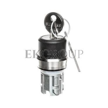 Napęd przełącznika 3 położeniowy I>O-II 22mm 2x klucz RONIS SB30 stabilny/niestabilny metal IP69k Sirius ACT 3SU1050-4BP01-0AA0-