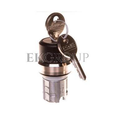 Napęd przełącznika 3 położeniowy I-O<II 22mm 2x klucz RONIS SB30 stabilny/niestabilny metal IP69k Sirius ACT 3SU1050-4BN01-0AA0-