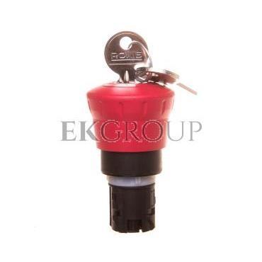 Napęd przycisku grzybkowego czerwony 2x klucz RONIS SB30 plastikowy IP69k Sirius ACT 3SU1000-1HG20-0AA0-99939