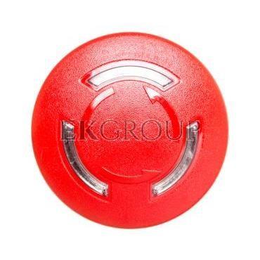 Napęd przycisku grzybkowego czerwony IP69k odbl. przez obrót z podświetleniem plastikowy Sirius ACT 3SU1001-1HB20-0AA0-99941