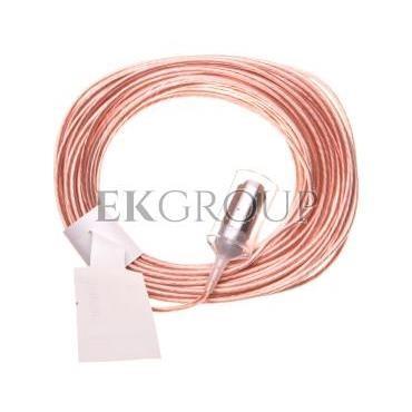 Elektrody kontrolne przewodowe do przekaźników 72.01 i 72.11 końcówka ze stali nierdzewnej dł.15m fi 1,5mm 072.01.15.000000-1014