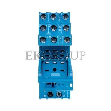 Gniazdo do serii 55.33/85.03 modułów 86.30, modułów 99.02, zaciski śrubowe, montaż na szynę DIN 35mm 94.03SPA-97965