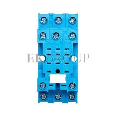 Gniazdo do serii 55.33/85.03 modułów 99.01, zaciski śrubowe, montaż na szynę DIN 35mm (klip metalowy) 94.73SMA-97969