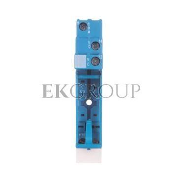 Gniazdo do przekaźników serii 40.31 modułów 99.02, 86.30 zaciski śrubowe montaż na szynę DIN 35mm (klip plastikowy) 95.03SPA-980
