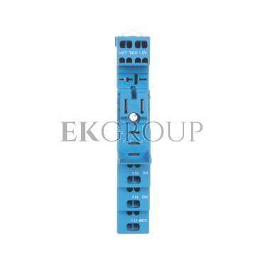 Gniazdo przekaźnikowe do serii 46.61 zaciski sprężynowe, na szynę DIN 35mm (klip plastikowy) 97.51SPA-98023