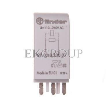 Moduł EMC, bocznik rezystancyjny 110-240V AC 99.02.8.230.07-99023