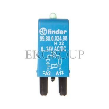 Moduł sygnalizacyjny LED zielony   warystor 6-24V AC/DC 99.80.0.024.98-99017
