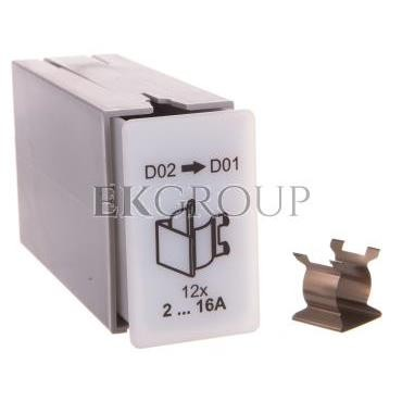 Redukująca sprężyna adaptera dla wkładki D02 do D01 0000101774T-96441
