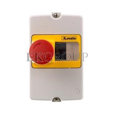 Obudowa do montażu powierzchniowego IP65 do SM1P szerokość 80mm w komplecie przycisk awaryjnego zatrzymania SM1Z1702P-90732