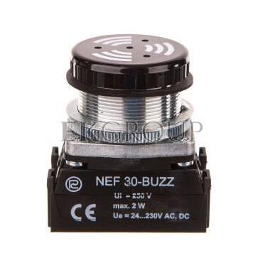 Sygnalizator dźwiękowy z sygnałem ciągłym W0-NEF30-BUZZ-97563