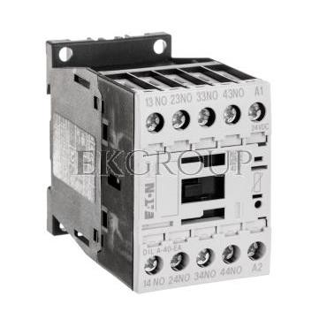 Stycznik pomocniczy 4A 4Z 0R 24V DC DILA-40-EA(24VDC) 189956-94678