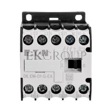 Stycznik mocy 9A 3P 24V DC 0Z 1R DILEM-01-G-EA(24VDC) 189986-94181
