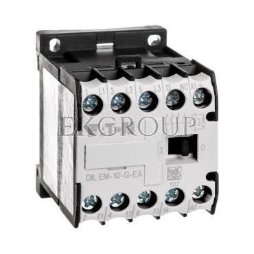 Stycznik mocy 9A 3P 24V DC 1Z 0R DILEM-10-G-EA(24VDC) 189984-94178