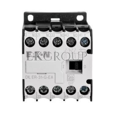 Stycznik pomocniczy 3A 3Z 1R 24V DC DILER-31-G-EA(24VDC) 189976-94673