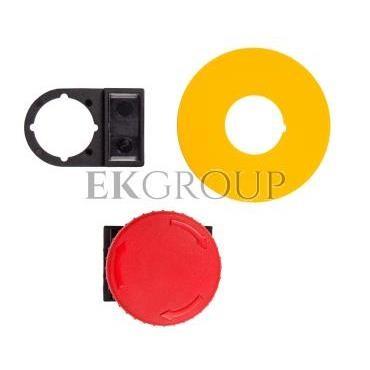 Napęd przycisku grzybkowego czerwony przez obrót W0-N-NEF22-DR/P C-99746