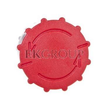 Napęd przycisku grzybkowego czerwony przez obrót SP22-B\.-99790