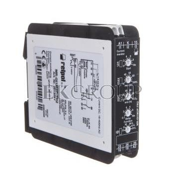 Przekaźnik kontroli prądu 1-fazowy 2P 5A 12-400V AC 0,1-1-10A AC/DC MR-GI1M2P-TR2 2613061-101958