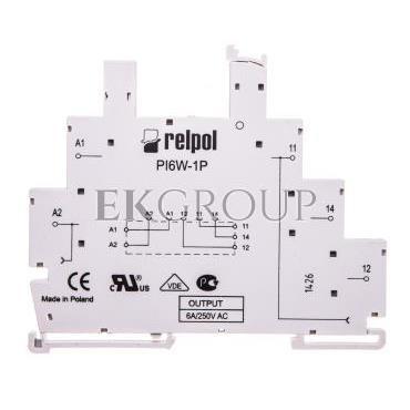 Gniazdo do przekaźników RM699BV i RSR30 6A IP20 PI6W-1P 856389-97915