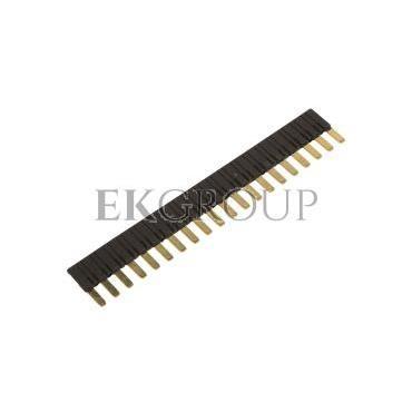 Mostek grzebieniowy 20-zębowe czarny ZG20-2 2608955-99037