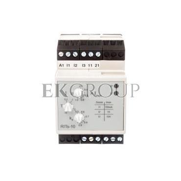 Przekaźnik pomiarowy prądu 1-fazowy 2P 5A 24-230V AC/DC 0,005-10A RITS-10 2605063-101960