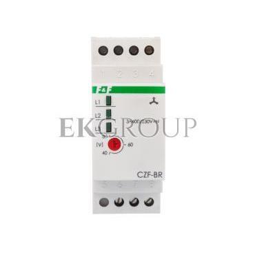 Przekaźnik zaniku i asymetri faz 10A 1P 4sek 40-80V CZF-BR-101792