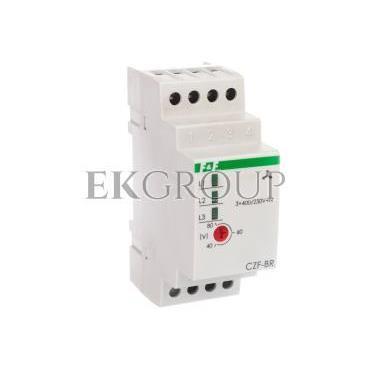 Przekaźnik zaniku i asymetri faz 10A 1P 4sek 40-80V CZF-BR-101793