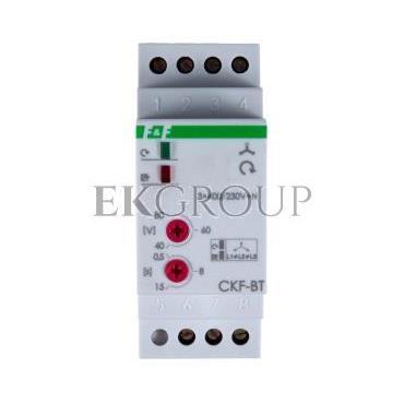 Przekaźnik kolejności, zaniku i asymetrii faz 10A 1P 0,5-15sek 40-80V CKF-BT-101750