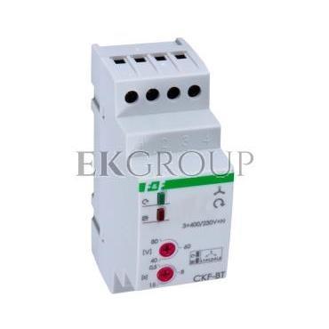 Przekaźnik kolejności, zaniku i asymetrii faz 10A 1P 0,5-15sek 40-80V CKF-BT-101751
