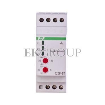 Przekaźnik zaniku i asymetri faz 10A 1P 0,5-15sek 40-80V CZF-BT-101795