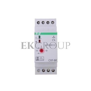 Przekaźnik kolejności, zaniku i asymetrii faz 10A 1P 4sek 40-80V CKF-BR-101770