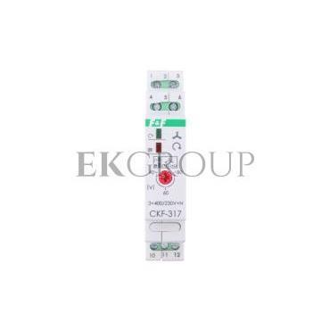 Przekaźnik kolejności, zaniku i asymetrii faz 10A 1P 4sek 40-80V CKF-317-101774