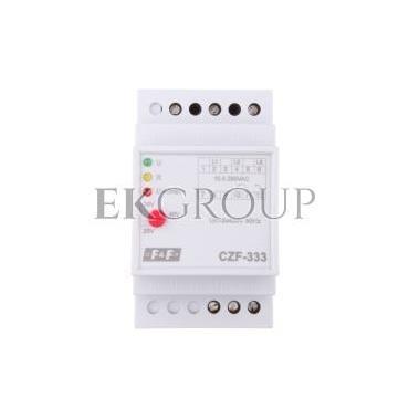 Przekaźnik zaniku i asymetrii faz 10A 1P 4sek 20-50V CZF-333-101780