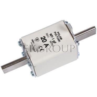 Wkładka bezpiecznikowa NH1 20A gF 500V WT-1 004139110-95708
