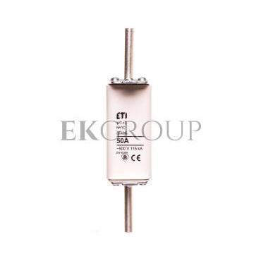 Wkładka bezpiecznikowa NH1C 50A gG 500V WT-1C 004113231-95805