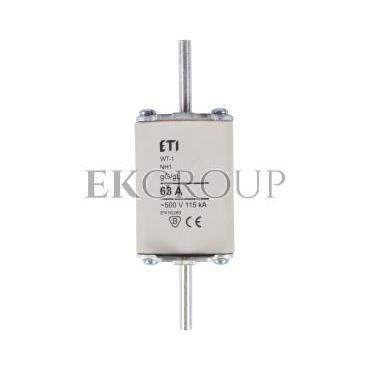 Wkładka bezpiecznikowa NH1 63A gG 500V WT-1 004113243-95822
