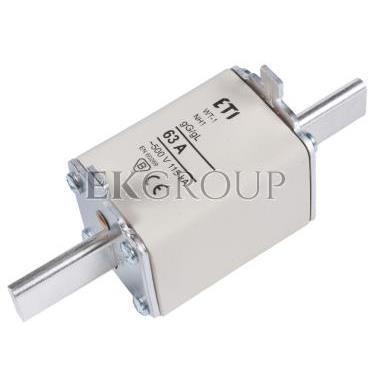 Wkładka bezpiecznikowa NH1 63A gG 500V WT-1 004113243-95823