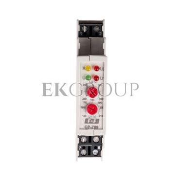Przekaźnik kontroli napięcia 1-fazowy 1P 16A 150-210V/230-260V AC CP-709-101849