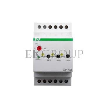 Przekaźnik kontroli napięcia 3-fazowy 3x(50-450V) N 3Z 8A 170-210V AC CP-734-101858