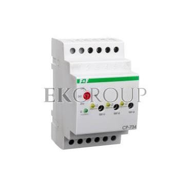 Przekaźnik kontroli napięcia 3-fazowy 3x(50-450V) N 3Z 8A 170-210V AC CP-734-101859
